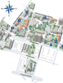 Map, Universitaetsklinikum Freiburg, Campus of Institutes
