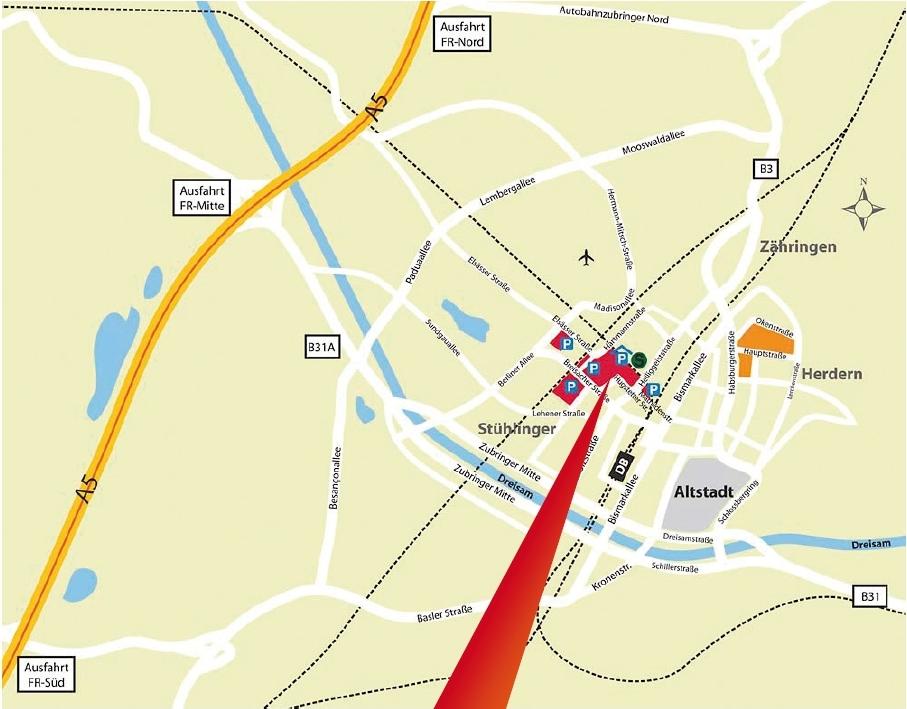 How to find us Universittsklinikum Freiburg